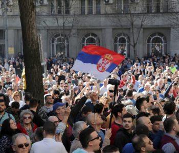 Srbija: Prosvjedi u Beogradu