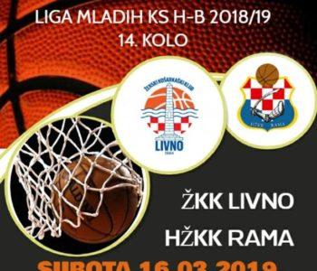 HŽKK Rama sutra gostuje u Livnu