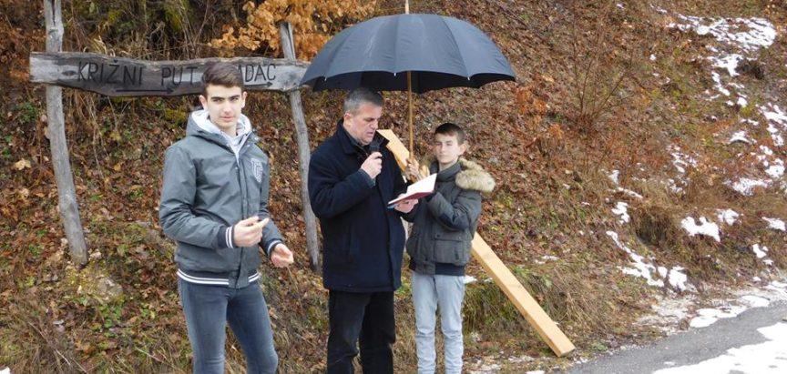 Najava: Put križa na brdo Gradac