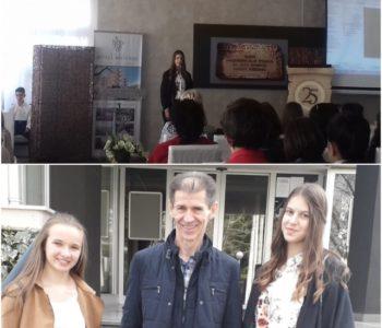 Mihaela-Mia Ostojić osvojila prvu nagradu u pisanju poezije na Danima hrvatskog jezika u Čitluku