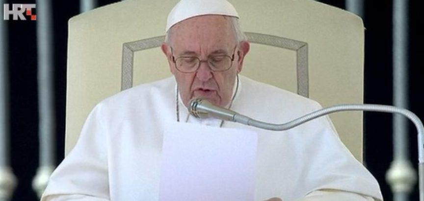 Papa Franjo: Bogatstvo nećemo ponijeti s ovoga svijeta