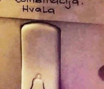 Natpis na zvonu nasmijao Dalmatince: 'Ako si zgodan…'