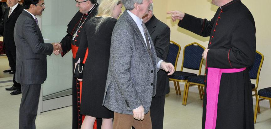 Uskrsni prijem kardinala Puljića na kojem nisu bili Čović i Dodik
