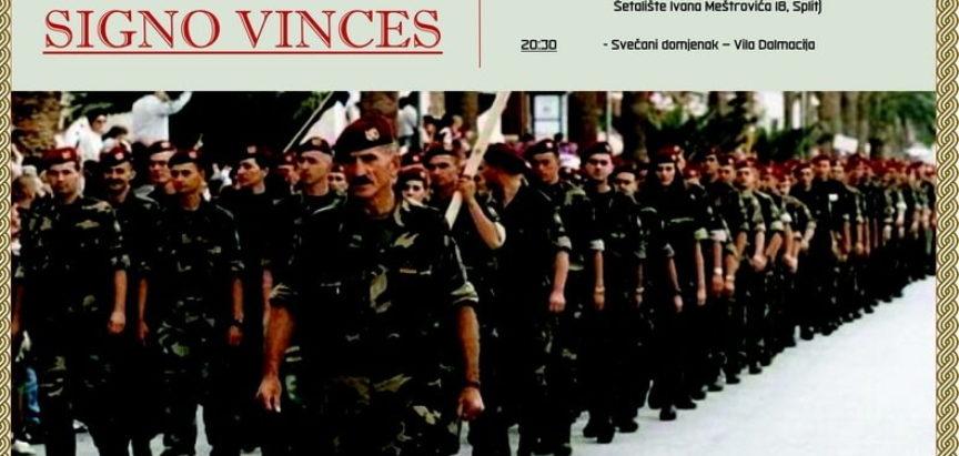 Obilježavanje 28. obljetnice 4. Gardijske brigade Split