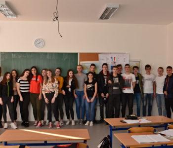 Foto/video: Učenica Srednje škole Prozor Ivana Andrijanić druga na županijskom natjecanju iz njemačkog jezika