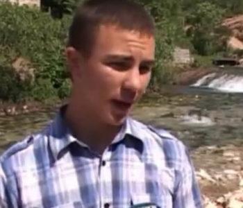 GENIJE IZ BILEĆE: Zoran Samardžić (19) napravio hidrocentralu kako bi njegova baka imala struju! (VIDEO)