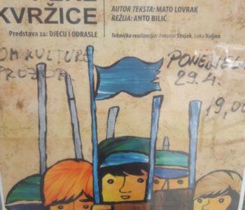 """""""Družba Pere Kvržice"""" – Predstava za djecu i odrasle u Prozoru"""