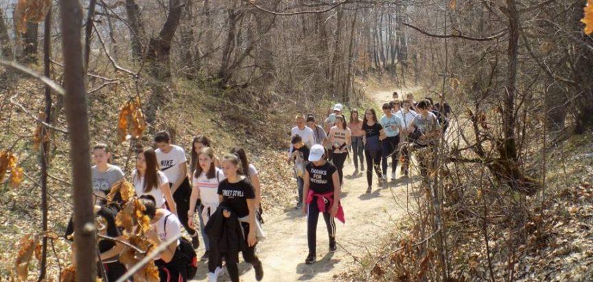 OŠ Marka Marulića Prozor: Planinarska sekcija ponovno u akciji