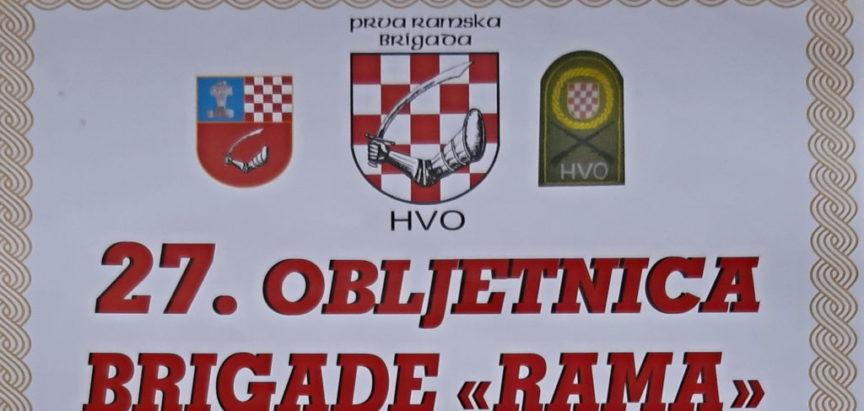 "Najava: Obilježavanje 27. obljetnice Brigade ""Rama"""