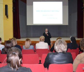 U Domu kulture u Prozoru održano zanimljivo predavanje o stresu