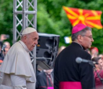 Papa Franjo susreo mlade u Skopju