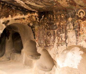 U Turskoj otkrivena podzemna crkva s dosad neviđenim prizorima na freskama