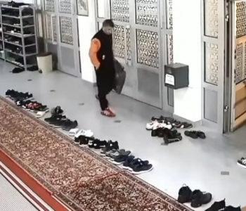 Dok su vjernici klanjali teraviju, lopov im krao obuću