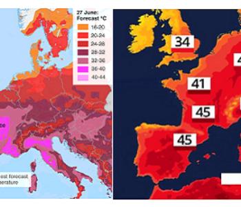 Užarena Europa