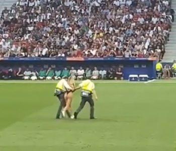 Djevojka upala na stadion za vrijeme finala Lige prvaka