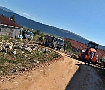 Započeli radovi na putu Orašac – Kozo