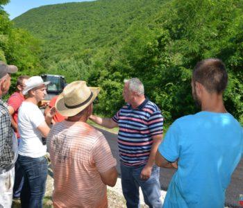 Foto/video: Načelnik općine Prozor-Rama dr. Jozo Ivančević obišao radove na Maglicama