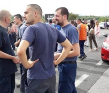 Magistrala M-17 deblokirana, radnici Aluminija dolaze u središte Mostara