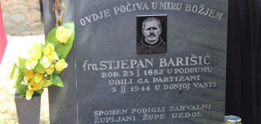 Poziv na hodočašće na grob fra Stjepana Barišića