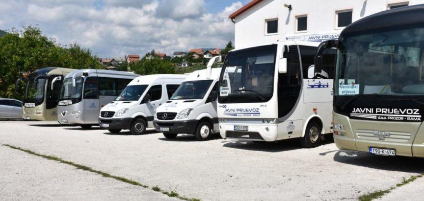Obavijest o uspostavljenim linijama besplatnog javnog prijevoza