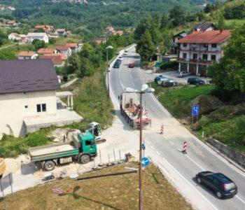 Foto: Novi glavni cjevovod danas spojen preko magistralne ceste M 16.2
