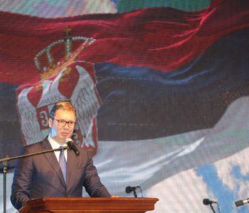 Aleksandar Vučić u Drvar došao s ministrima obrane i financija, a domaćin mu je u toj općini Federacije BiH, Livanjska županija je bio srpski član Predsjedništva Milorad Dodik