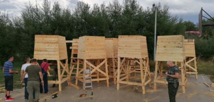 'Ždral' iz Livna izgradio nove osmatračnice