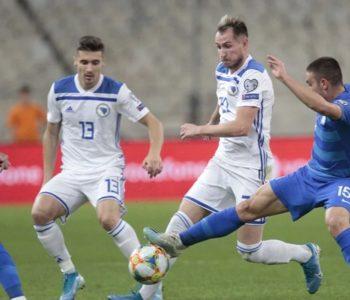 Poraz u Grčkoj, BiH na Euro 2020. može samo kroz Ligu naciju