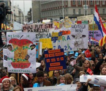Kakve veze imaju prosvjedi u Hrvatskoj s BiH?