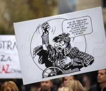 Sastanak Plenkovića i sindikalaca bez dogovora, štrajk se nastavljaju