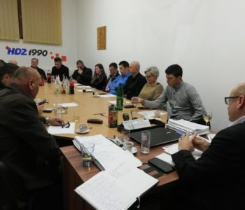 Anto Bilić ponovo izabran za predsjednika ŽO HDZ 1990 ŽSB