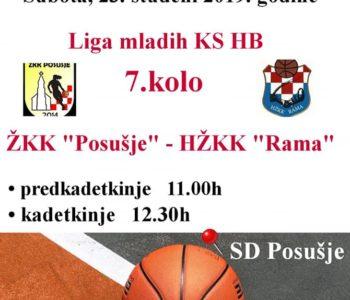 Košarkašice Rame sutra gostuju u Posušju