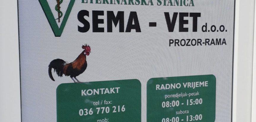 Obavijest: Veterinarska stanica SEMA-VET vrši pregled svinjskog mesa