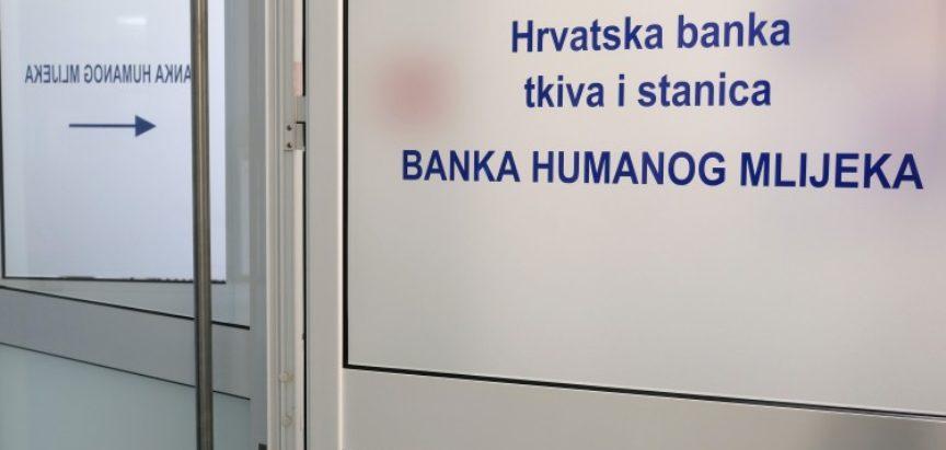 U Hrvatskoj otvorena prva Banka humanog mlijeka