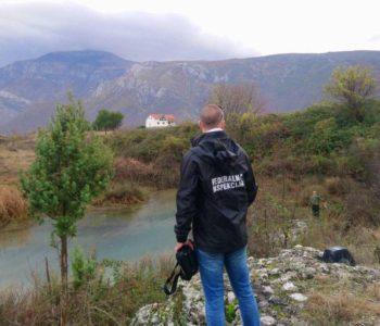 Inspektori izašli na teren nakon pomora ribe u Neretvi kod Mostara