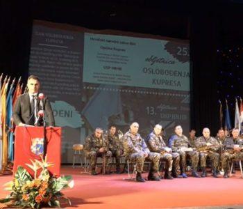 Branitelj na Kupresu prekinuo govor generala Sopte, a poslušajte i zašto