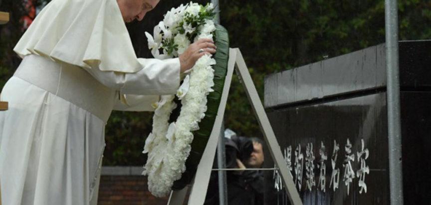 Papa u Nagasakiju pozivao na ukidanja nuklearnog oružja