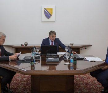 Predsjedništvo BiH imenovalo Tegeltiju za predsjedavajućeg Vijeća ministara