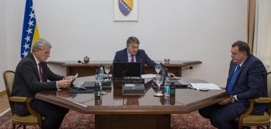 Šef diplomacije SAD-a članovima Predsjedništva BiH: 'Daytona II neće biti, ali Ustav treba mijenjati'