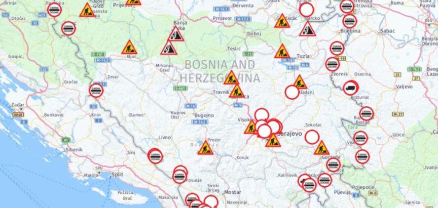Stanje na cestama 09. 11. 2019. u 08 : 10 sati