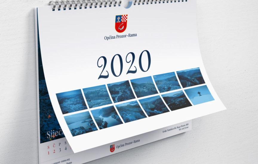 Kalendar 2020. godine s ramskim krajolicima
