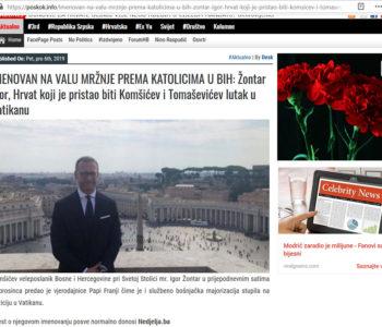 """Nedjelja.ba: Novinarski objedi na """"rođačkoj"""" matrici"""