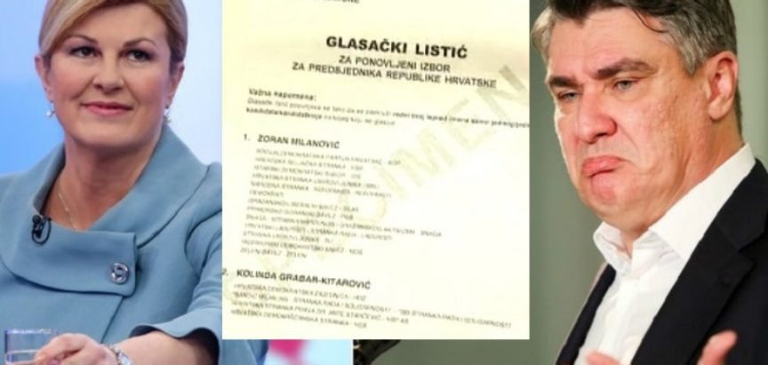 DOKLE VIŠE Kolinda Grabar Kitarović pozvala Hrvate da glasuju za Milanovića