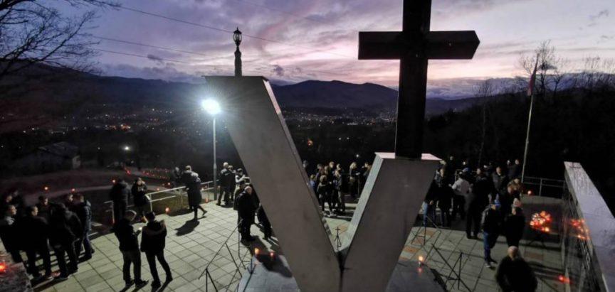 14 kilometara dug pohod za ubijene u Križančevu Selu