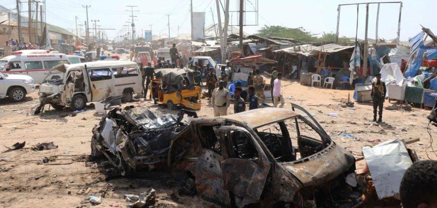 Broj poginulih u eksploziji bombe u Mogadishu porastao na 90