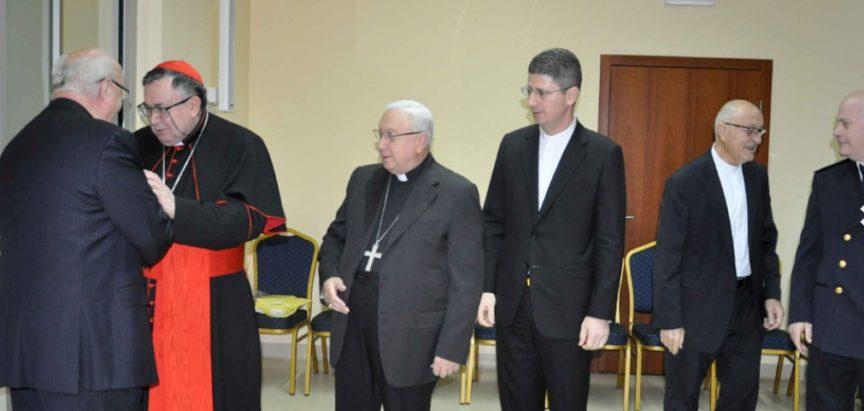 Božićni prijem kardinala Vinka Puljića – Tko  nije bio?