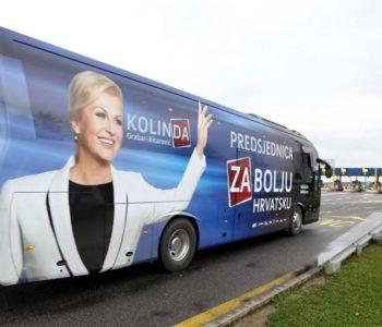 Kolindin autobus sudjelovao u još jednom incidentu