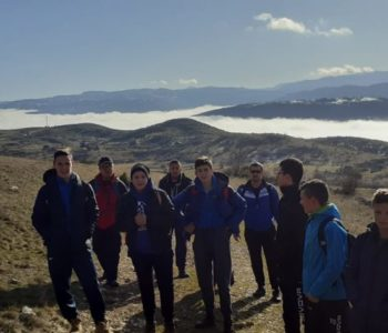 Veslački klub Rama na kondicijskom treningu do najvišeg vrha Raduše