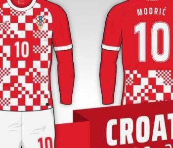 Objavljene fotografije novog dresa nogometne reprezentacije Hrvatske, a HNS to demantira