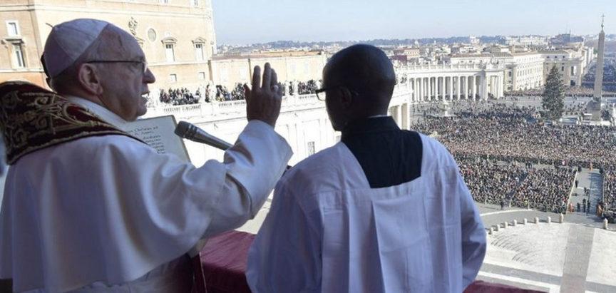 """Poruka pape Franje """"Urbi et orbi"""" – gradu i svijetu"""